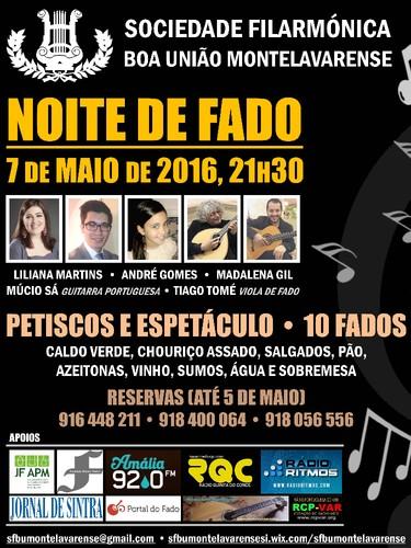 Noite de Fado - SFBUM (2016-05-07) - Cartaz (A3).j