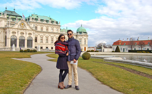 Jardins do Palácio Belvedere