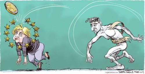Alemanha Grécia exige pagamento de dívida de