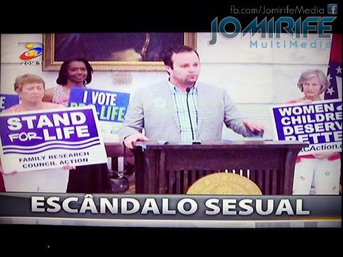 Gafe do telejornal da TVI escreve Escândalo Sesual em vez de Sexual