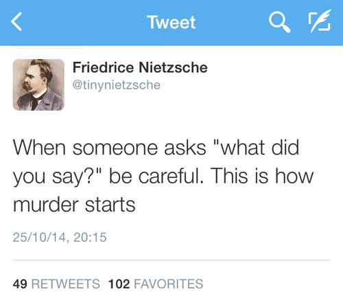 Tiny Nietzsche