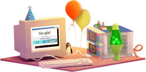 17º aniversário da Google