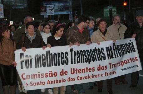 Manif St António Cavaleiros 2014-11-27