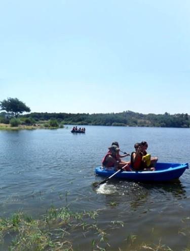 Alem Mais - Aluguer de Barcos / Kayaks / Gaivotas, Barragem de Povoa e Meadas