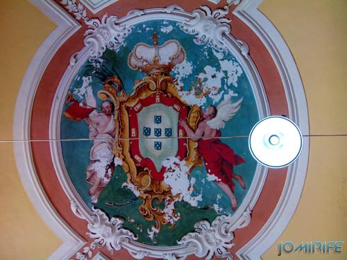 Teto com anjos na Faculdade de Direito da Universidade de Coimbra FDUC