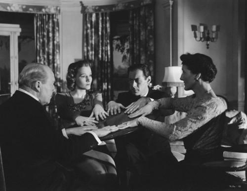Blithe Spirit (1945) Rex Harrison & Constance Cumm