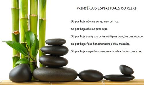 Resultado de imagem para os cinco principios do reiki