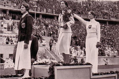 Helene Mayer fez a saudação nazi no pódio