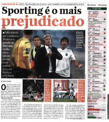 Sporting é o mais prejudicado pag.1.jpg