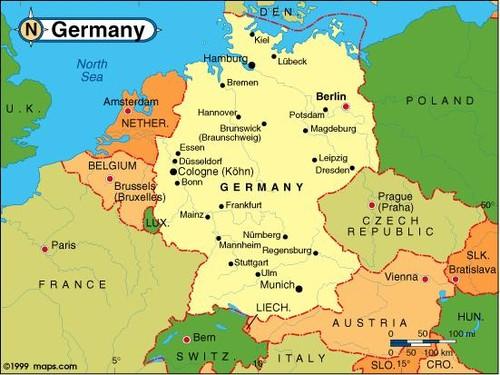 Mapa Alemanha1
