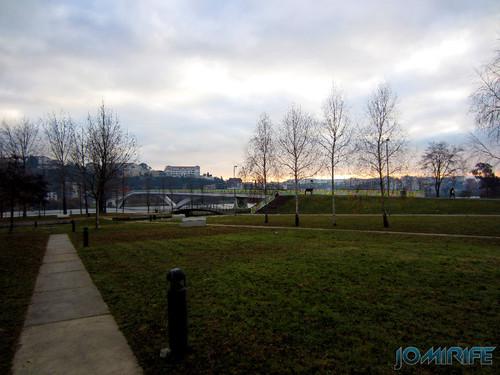 Parque verde do Mondego em Coimbra (1)