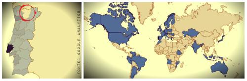 Mapa Visitas Google - daspalavras.blogs.sapo.pt