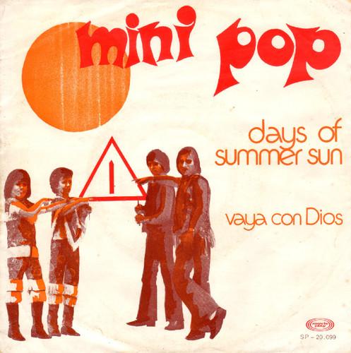 Os Mini Pop - Days Of Summer Sun - F738.jpg