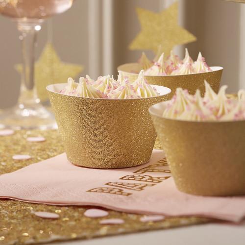 PP-643 Gold Glitter Cupcake Wraps.jpg