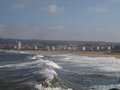 Praia da Figueira da Foz vista do molhe