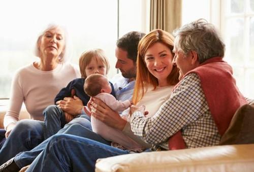 Casal e os Filhos de outra Relação