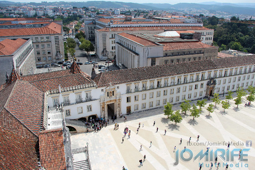 Torre da Universidade de Coimbra - Faculdades