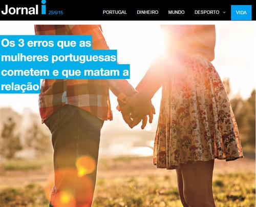 Os 3 Erros que as mulheres portuguesas cometem - Jornal I