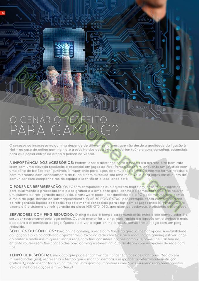 Novo Folheto WORTEN promoções de 16 março a 5 a