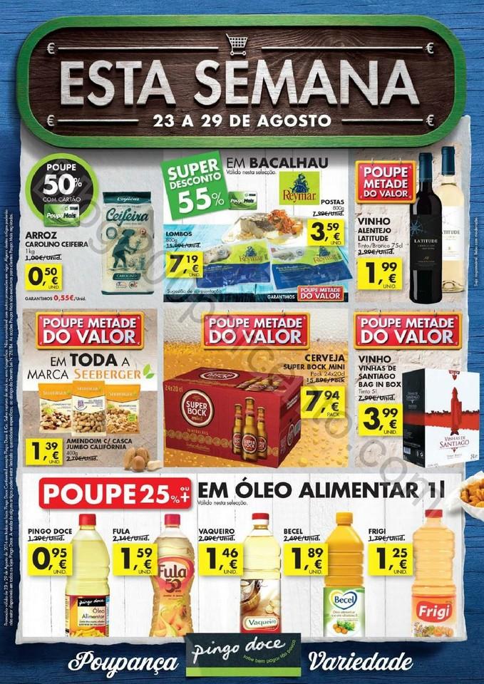 Antevisão Folheto PINGO DOCE Promoções de 23 a