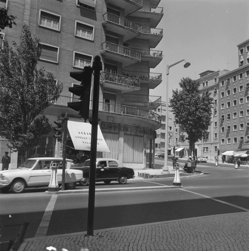 Avenida de Roma, Lisboa (Artur Goulart, s.d.)