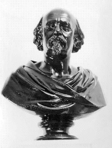 Busto do fundador do asilo de São João, José Es