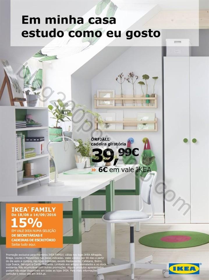 Novo Folheto IKEA Promoções de 18 agosto a 14 se