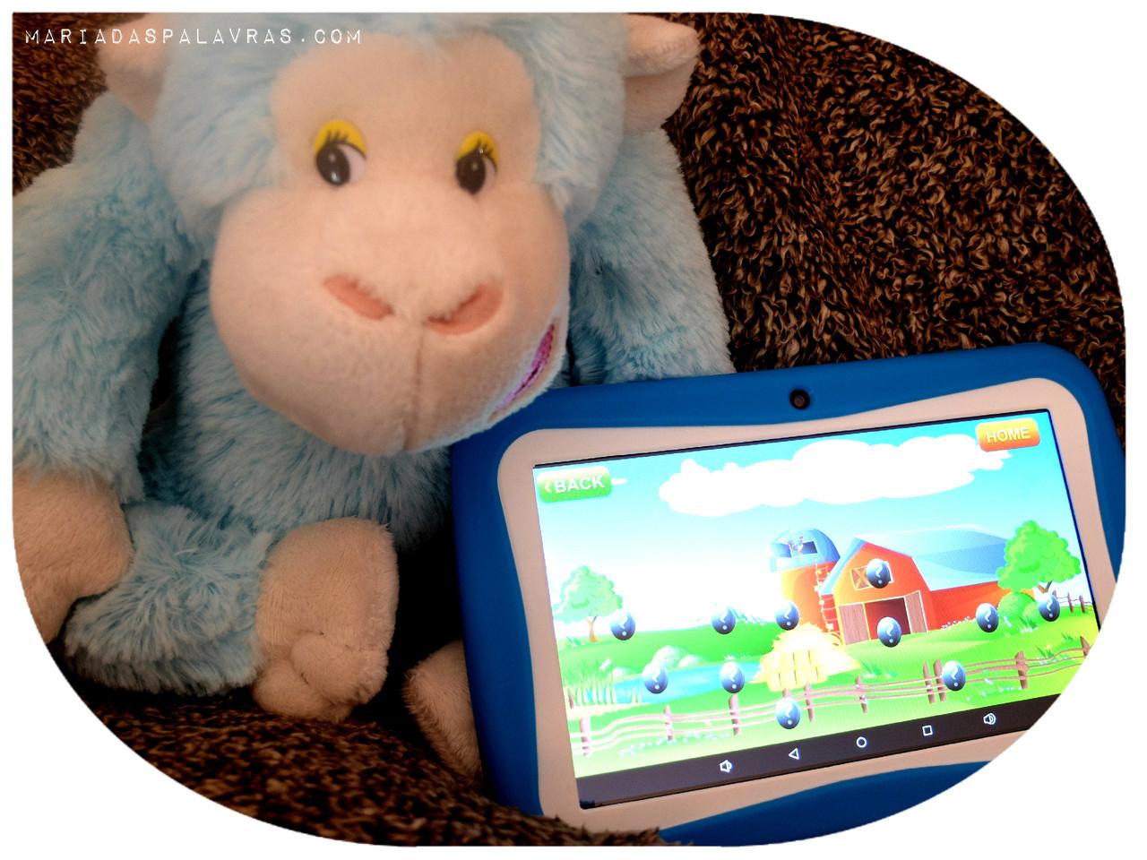 Tablet para Crianças Odisseias | Maria das Palavras