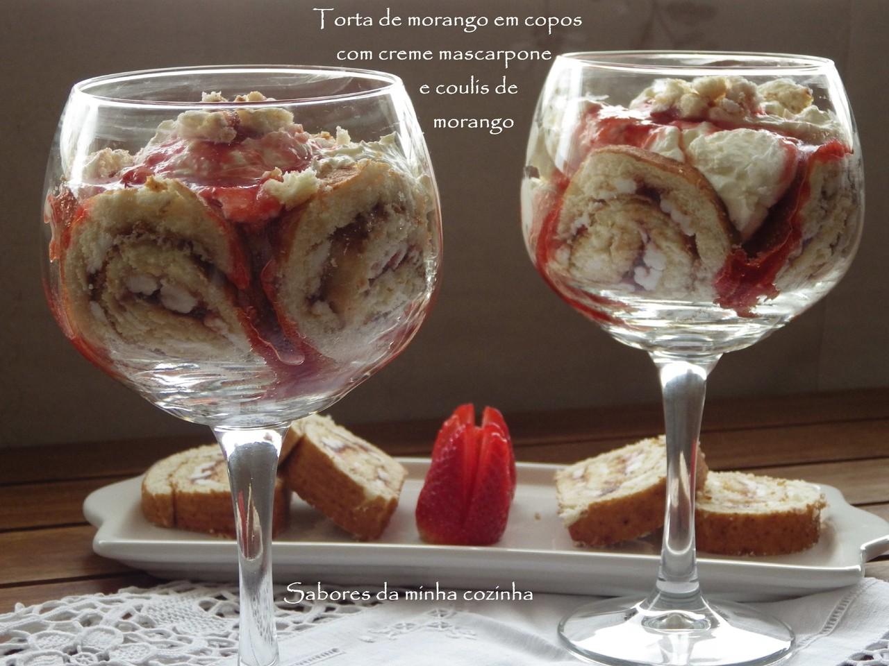 IMGP4311-Torta de morango em copos com creme masca