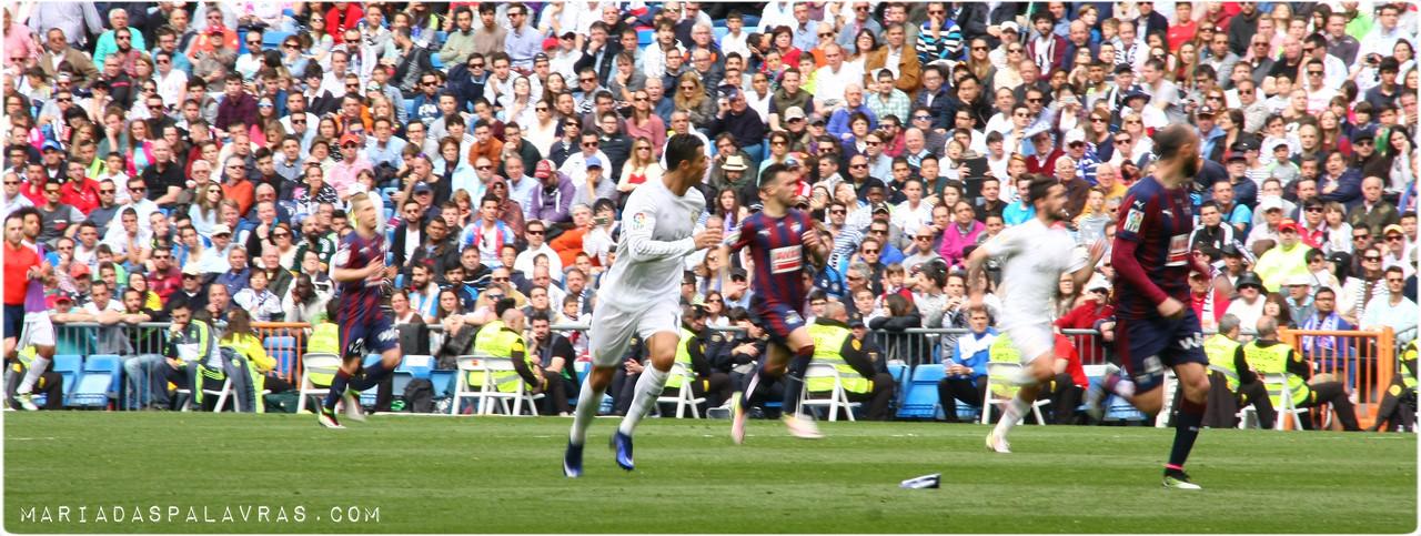 Cristiano Ronaldo - Real Madrid VS Eibar | Maria das Palavras