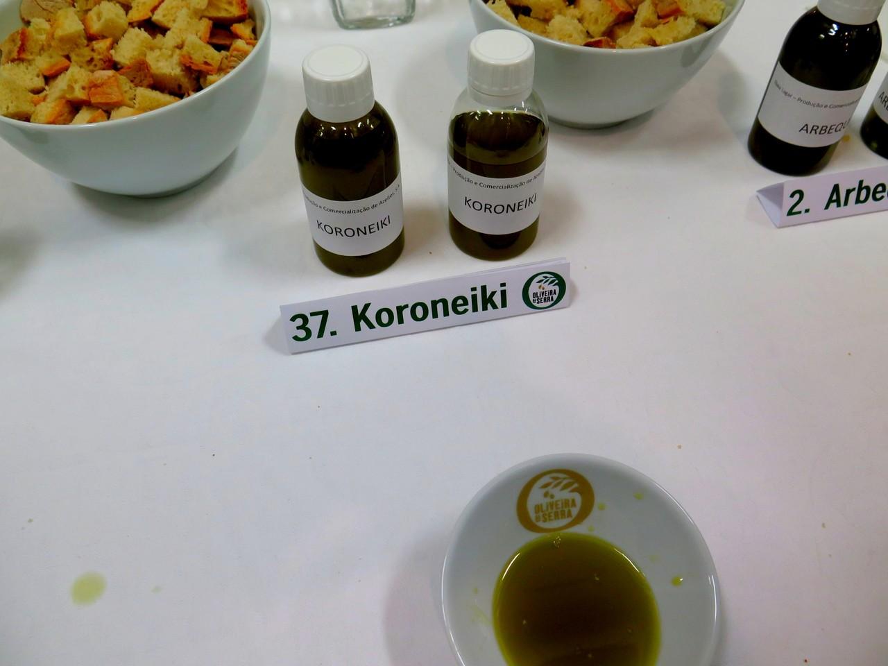 Amostra da variedade Koroneiki