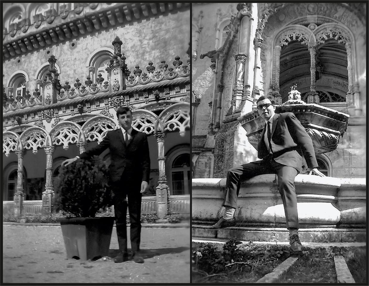 10.- Sousa e Silva e Filinto no Palace de Bussaco