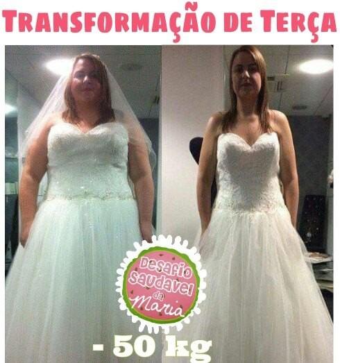 noiva emagrece 50 kg em 6 meses desafio saud vel da maria. Black Bedroom Furniture Sets. Home Design Ideas