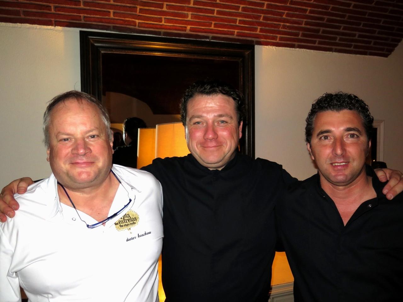 Dieter Koschina, Arnaud Vallet, Hermínio Sanona