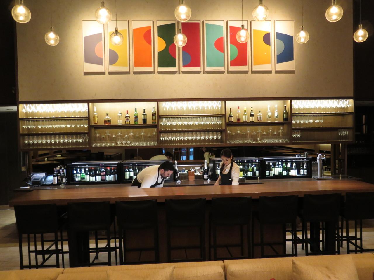 O wine bar de Aldo Sohm...