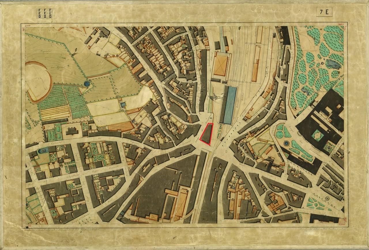 Planta Topográfica de Lisboa 7 E, 1910, de Albert