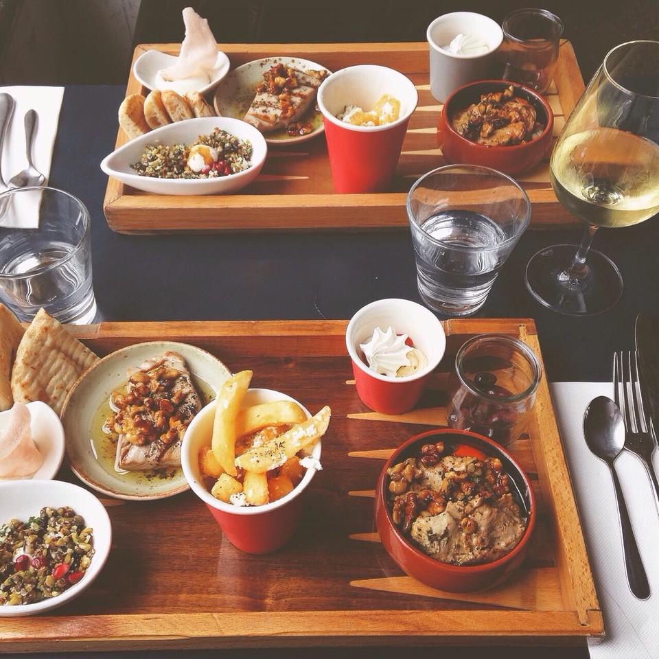 Almoço no Gazi, em Melbourne