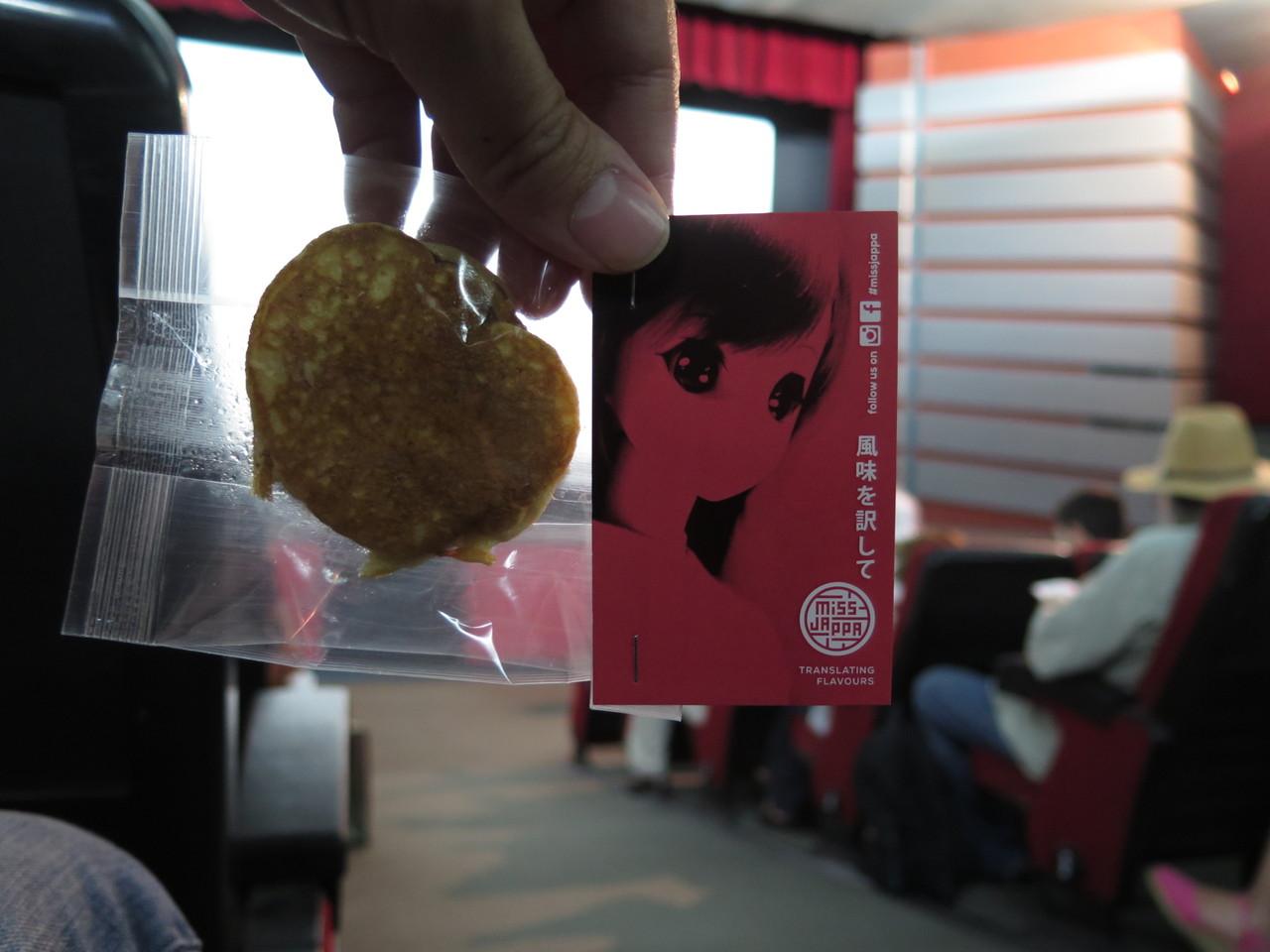 Dorayaki feito por Anna Lins no MISS JAPPA... e oferecido no cinema Medeia Monumental