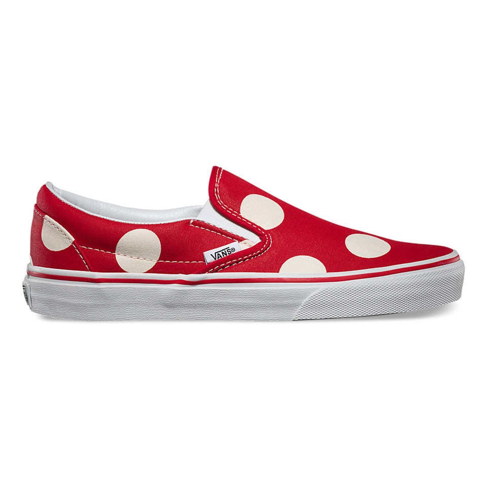 SLIP ON POLKA DOTS FORMULA ONE RED 67,90€.jpg