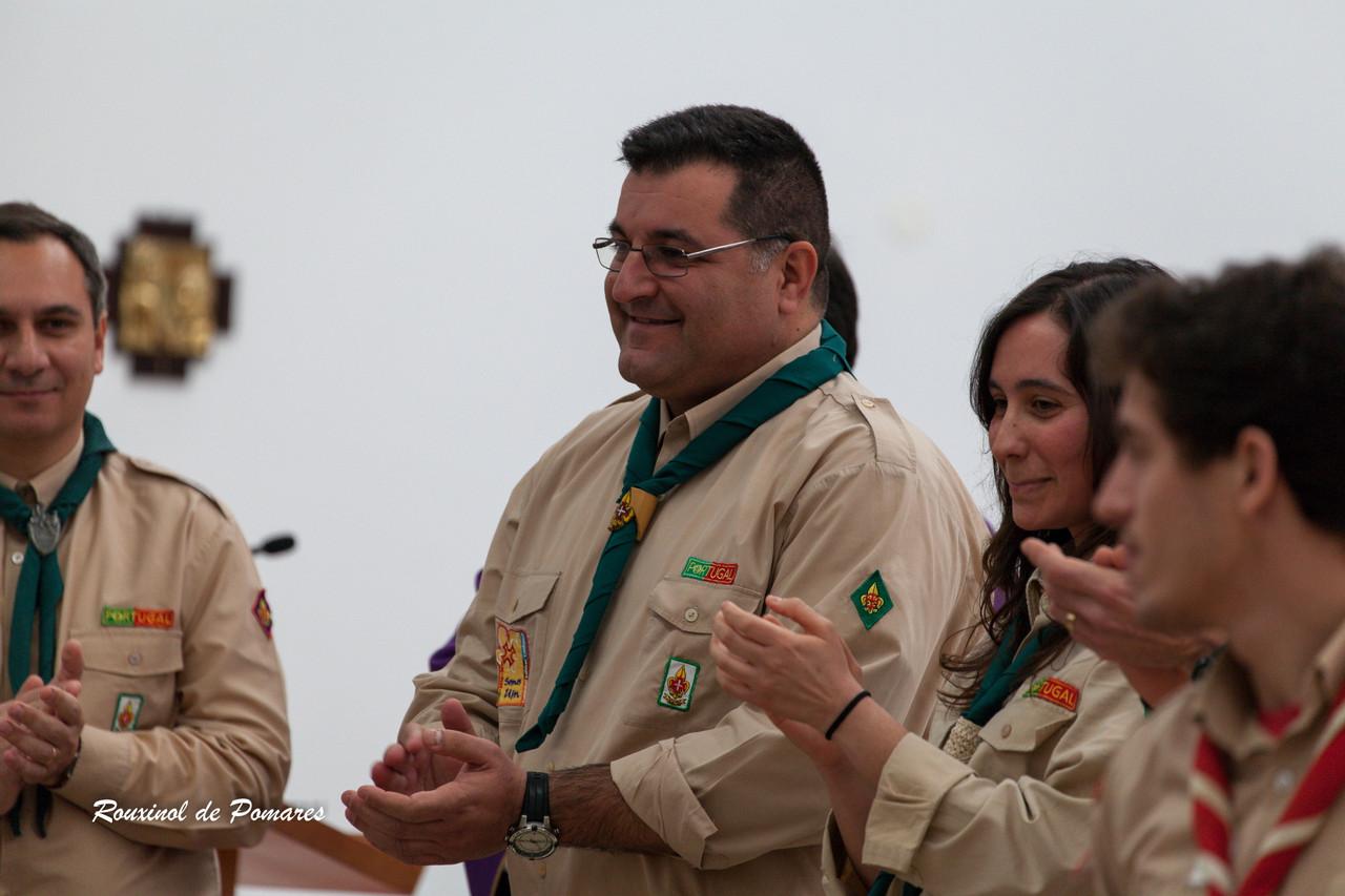 Investidura de António Simões Chefe de Escuteiro