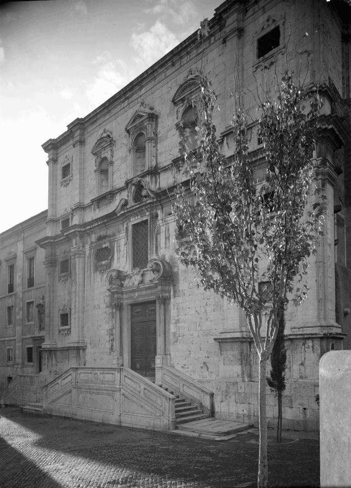 Igreja do Menino Deus, fachada principal, foto Est