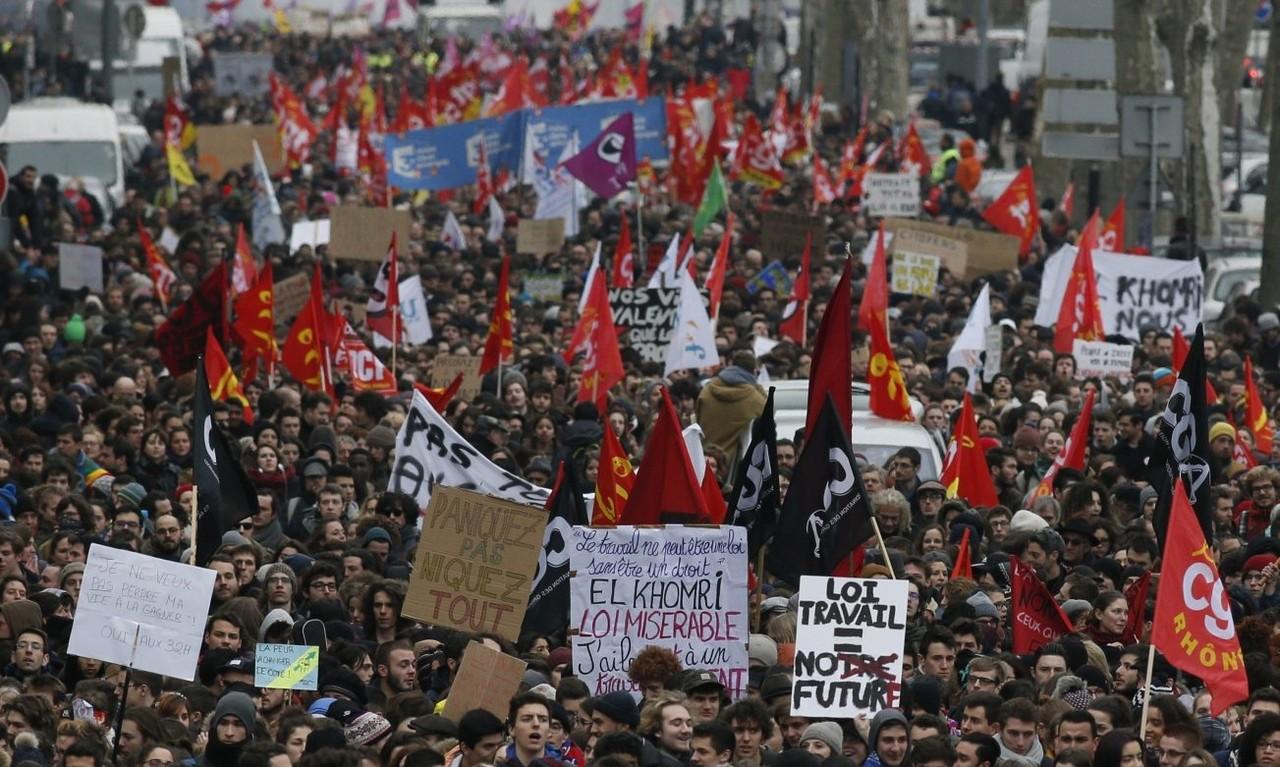 Manifestação França 2016
