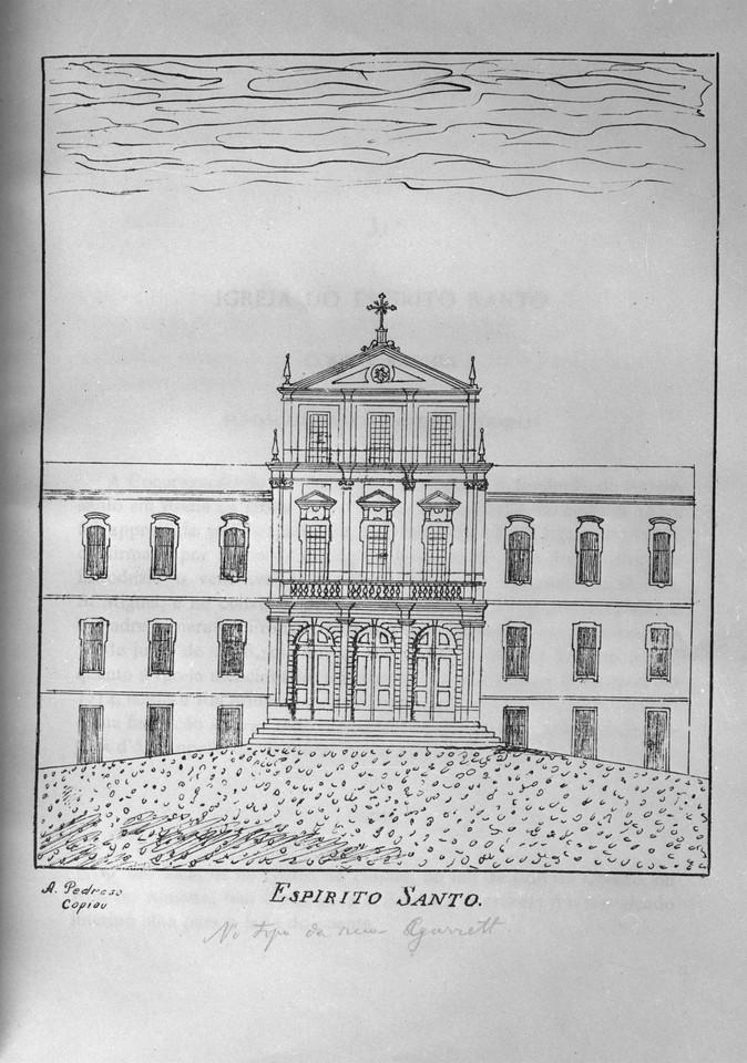 Convento do Espírito Santo situado no topo da rua