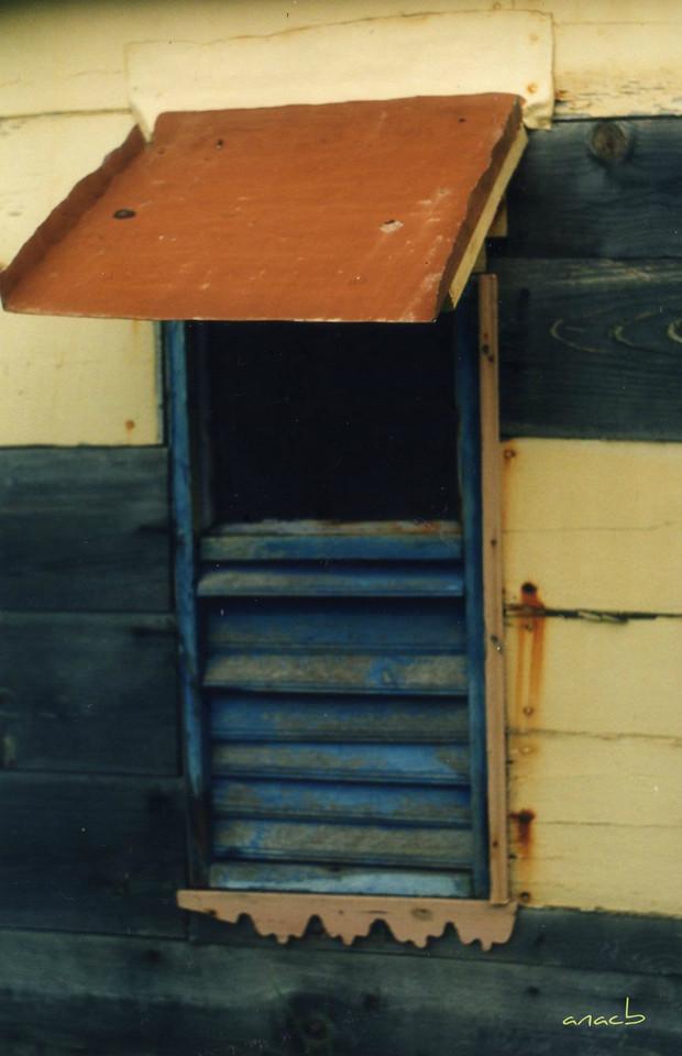ao acaso #11 janela da Maison du Bagnard, perto da