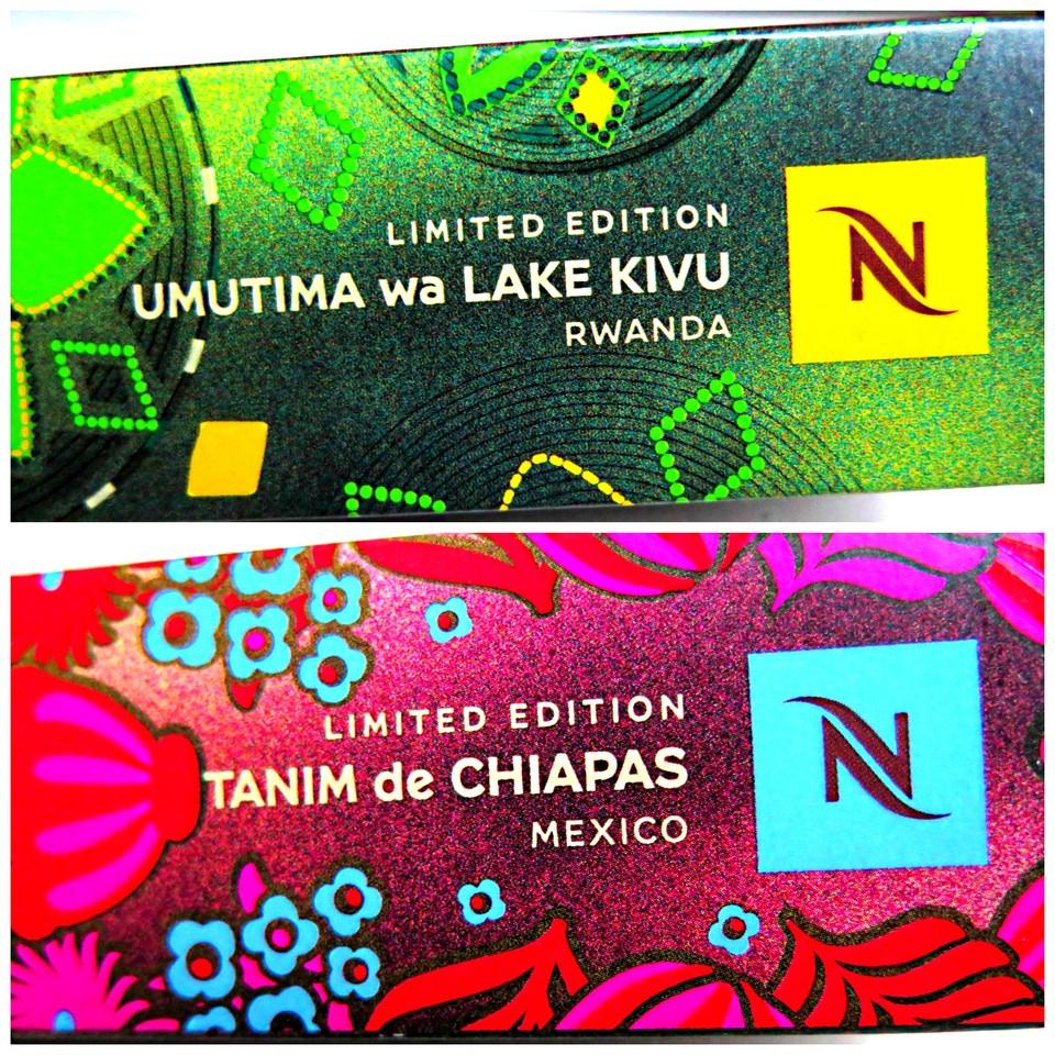Edições Limitadas Nespresso UMUTIMA e TANIM