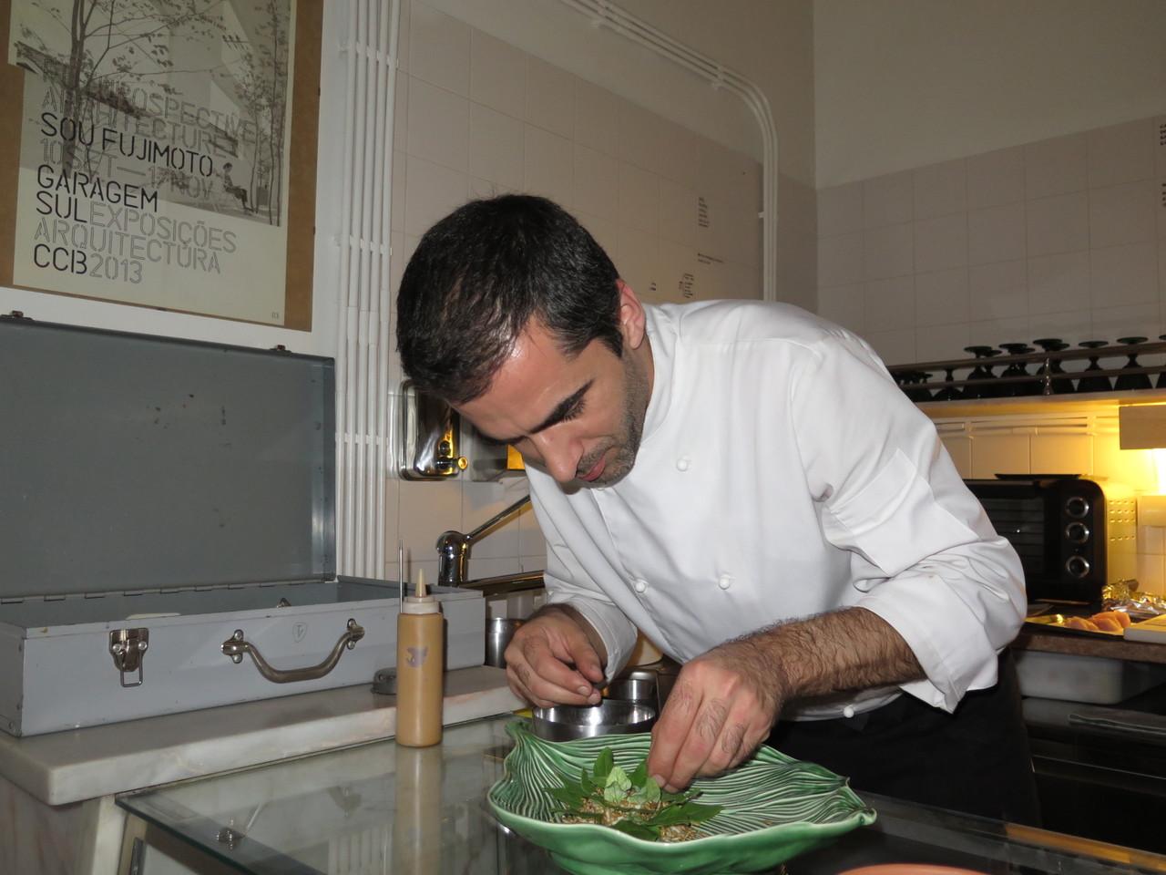 Tiago Feio e o espinafre
