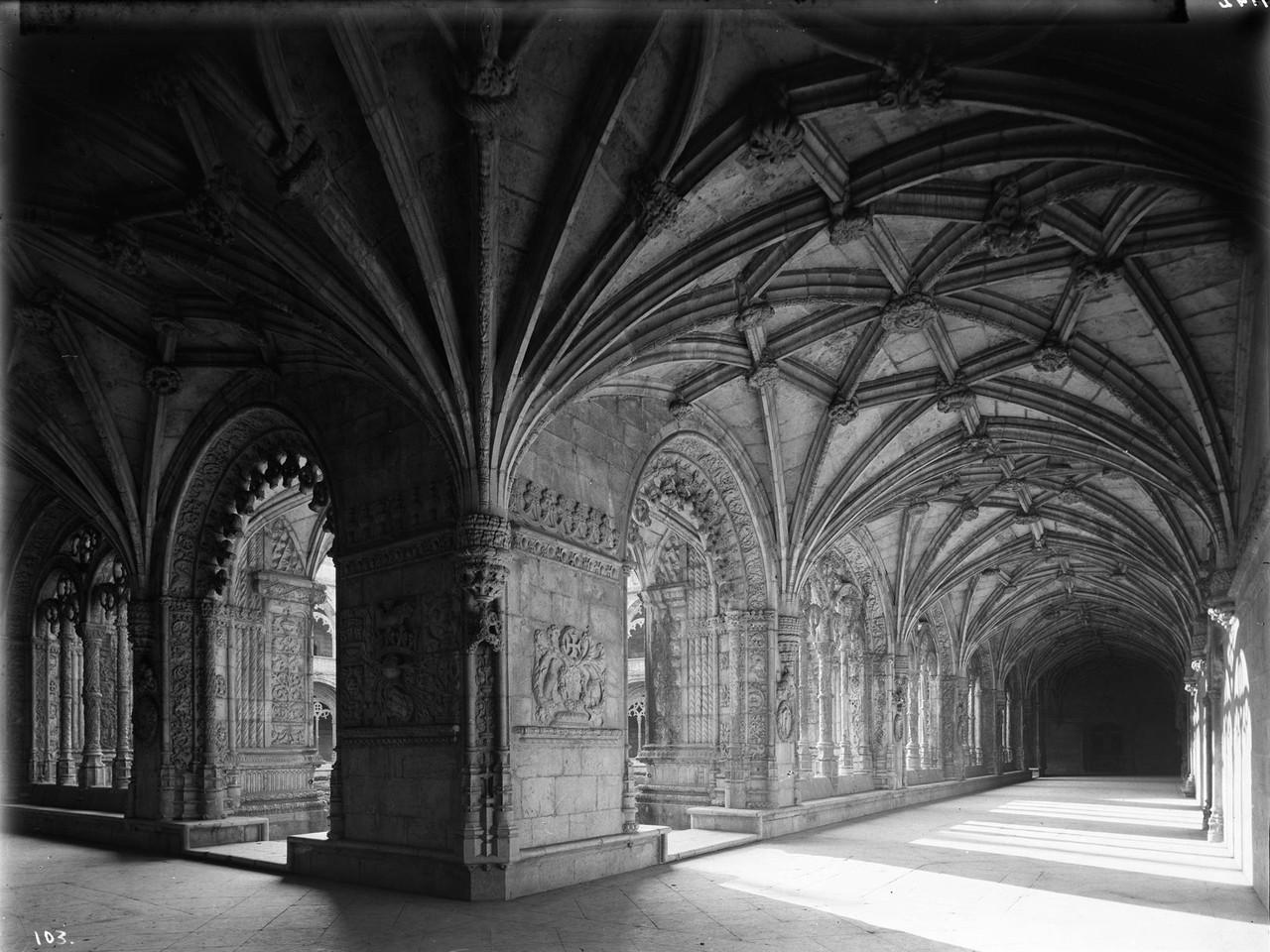 Mosteiro dos Jerónimos, claustro, foto de Alexand
