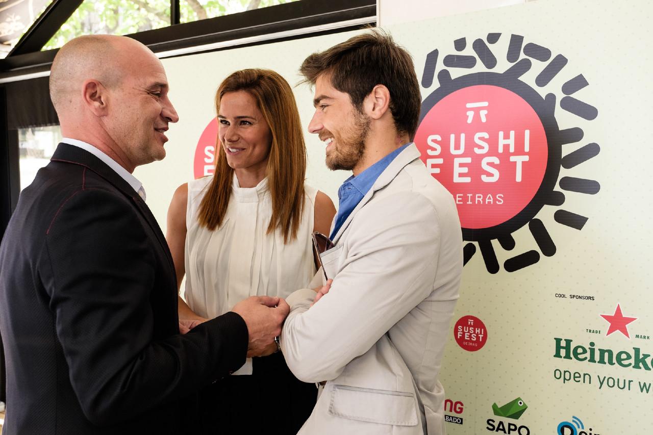 Sushi Fest_Nuno Graciano, Cláudia Vieira e Louren