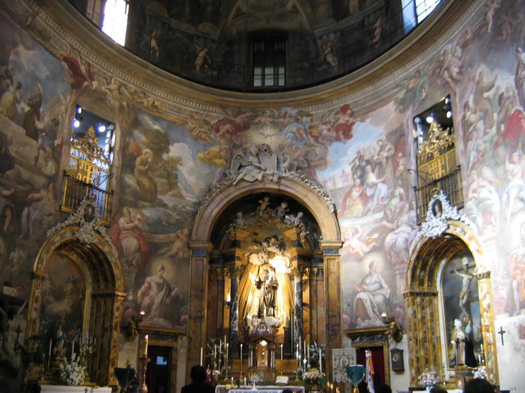 Romântica Madrid-Igreja de Stº Antº dos Alemãe