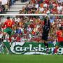 Primeiro golo pela seleção (12/06/04)
